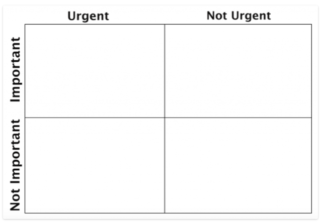 To-Do List Matrix